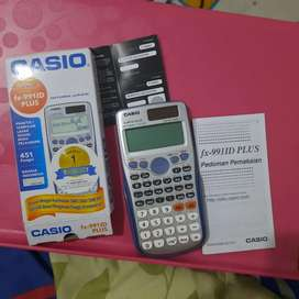 Kalkulator seken second Scientific Casio FX 991 Plus Calculator