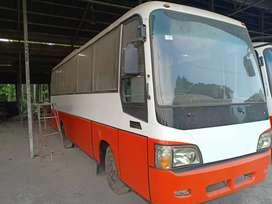 Hyundai medium bus ac 29 seat, karoseri korindo