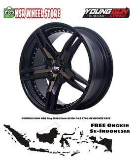 Velg Racing R15 HSR KEUNIKAI Velg Brio Agya Ayla Mirage Avanza Yaris