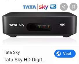 New DTH connecation tata sky