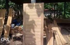 Pintu Kusen Kayu Minimalist