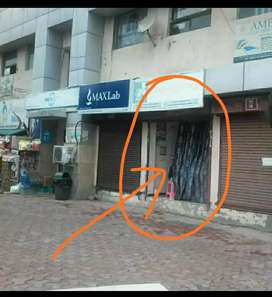 Premium Rented Shop for sell 120 sqft from owner on main society Gate