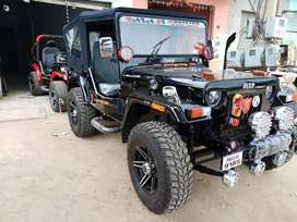 Hunter modified open Willys jeeps Shri Bala ji modifiers