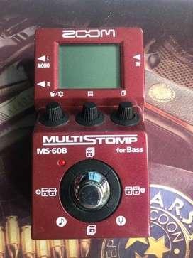 Zoom MS 60B Multi Stomp Bass