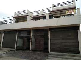145 YARD DESIGNER DUPLEX HOUSE WITH SHOP 68 LAC EACH ( JAGRATI VIHAR )