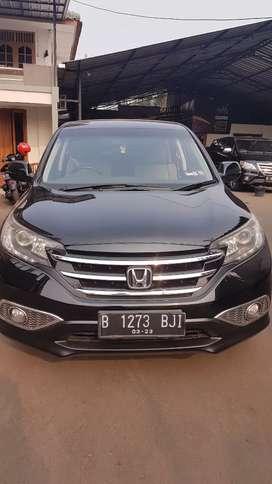 Honda CRV 2.4 Prestige 2013 Hitam Metalik Garansi 1 Tahun
