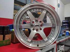 Velg Mobil Honda City Ring 17 HSR Wheel Type BORGO