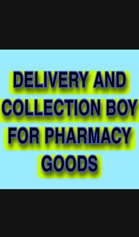 Delivery and collection Person