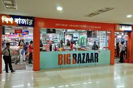 Urgent hiring for shopping mall male and female candidates...