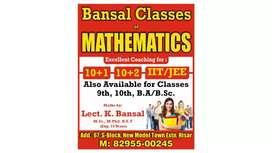 BANSAL MATHS CLASSES