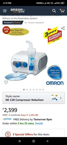 omronNE C28 Compressor Nebulizer For Child and Adult