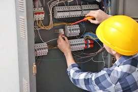Electrician home service available 200₹ .neharu Nagar, jawahar chouk,