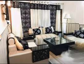 Sofa set and dining table