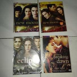 DVD twilight New Moon, eclipse, breaking dawn