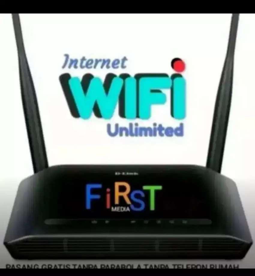 PENDAFTARAN FIRST MEDIA WIFI+TV CABEL 0