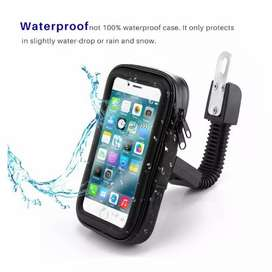 Waterproof holder phone motor