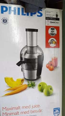 Philips maximalt med juice