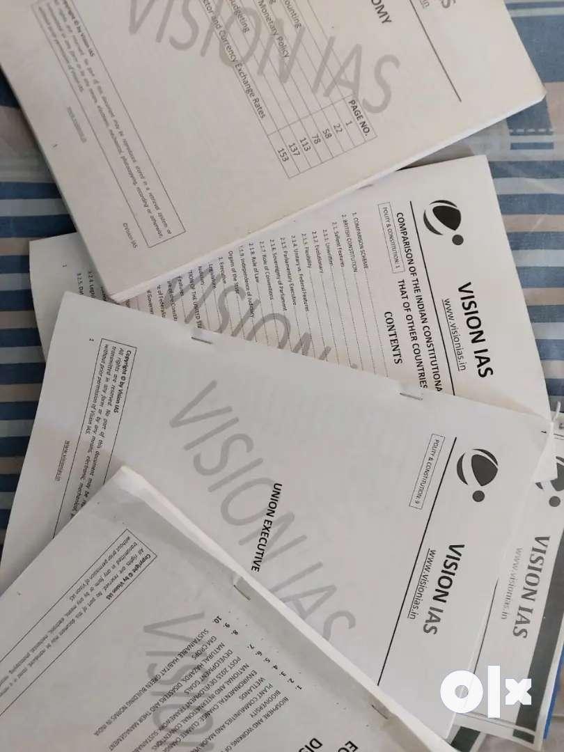 IAS coaching Vision IAS material 0