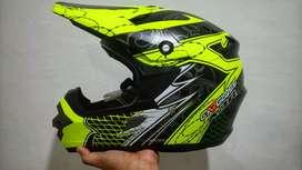 Helm Cargloss MX Cross Murah Lokasi Depok KYT NHK GM INK JPX TRX