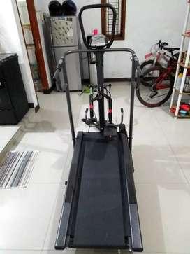 Jual Treadmill manual 4 fungsi like new