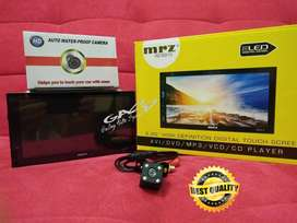 PAKET CAMERA + Head unit double din MRZ RZ-6915 full glass MIRRORLINK