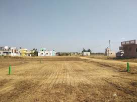 9.27lak residential land sale in veppampattu