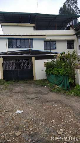 Independent house. Road margin. 2kms from charring Cross. Ooty