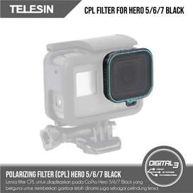 Lensa Filter Polarize CPL GoPro Hero 5 6 7 Black Camera CPL Lens
