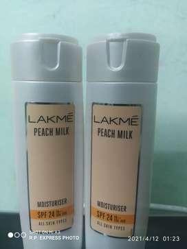 2 Lakme Peach Milk Body Moisturizer