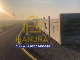 precast roofs and boundary walls Project by Hanjra