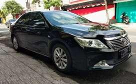 Toyota Camry 2.5 V Matic 2012 Hitam KM 82 Rb TDP  61Juta