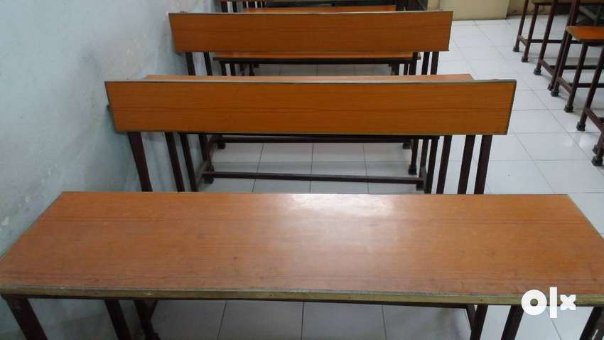 Benches and Desks for Classes. Affordable Price