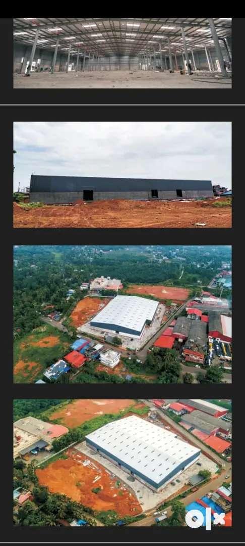 63000 sqft warehouse rent vazhakkulam aluva