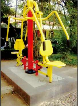 CHEST PRESS 2 SEAT ALAT FITNES OUT DOOR