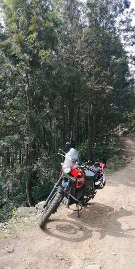 Royal Enfield himalayan. Its the most unique himalayan in vizag, all