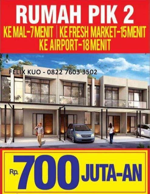 cluster alabama pik 2 new launching rumah 700jutaan kpr atau cash 60x