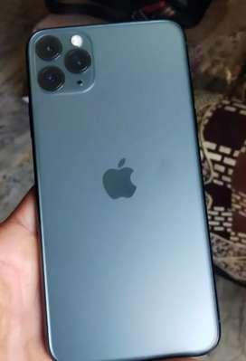 iPhone.......(11 Pro 64GB).....midnight green colouright green colour