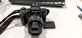 Canon M50 EOS Mirror less Best for Videos just Like new 10/10