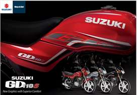 Suzuki GD110s New Sticker with Self start,Alloy Rims sell very cheap..