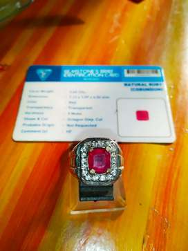 Natural Red Ruby Memo ACC