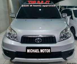 Toyota Rush DP4,5Jt S AT TRD Silver 2014 Tgn1 Istimewa