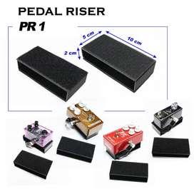 LOCC Pedal Riser PR-1 10x5x2cm besi solid