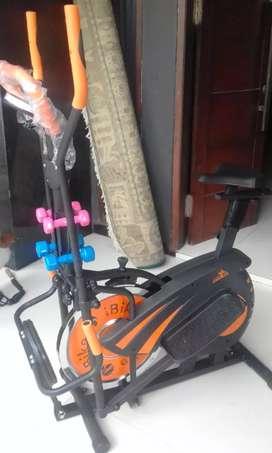 Crenatasport 10 fungsi sepeda statis maxfitt 60