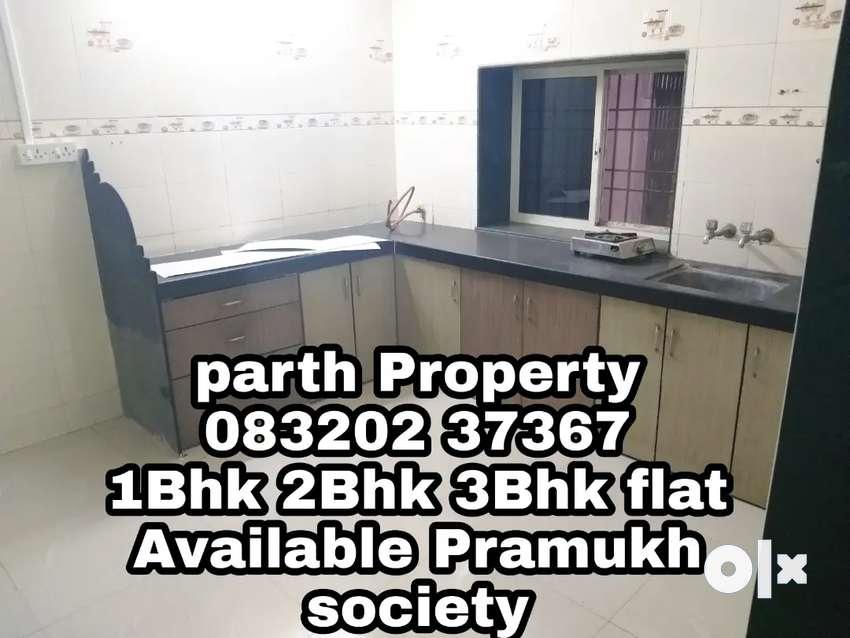 Semi furnished 2Bhk flat pramukh Residency available