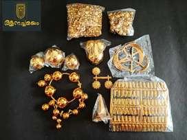 Nettipattam Materials and handmade nettipattam