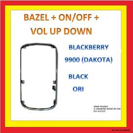 Bazel Bezel Middle BB 9900 Dakota + Flexibel On off Volume up down Ori