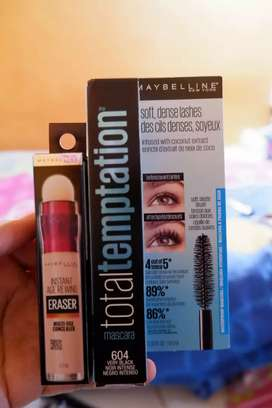 Mascara dan Concealer Maybeline New