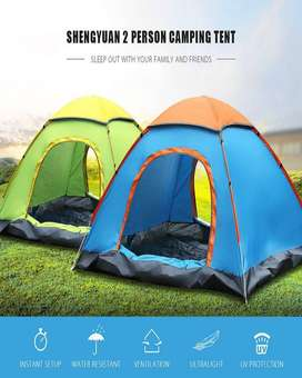 High Quality Manual waterproof UV outdoor ultralight camping tent with