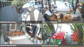 SIAP PASANG !! CCTV Brand DAHUA paket pasang 2 channel Camera 2mp