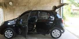 Nissan March 2013 terawat KM rendah mobil noken